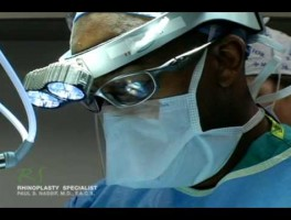 In the Operating Room – Rib Cartilage Harvest for Revision Rhinoplasty
